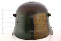 World War I Steel Helmet with Camouflage