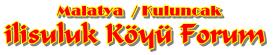 ilisuluk Köyü Forum