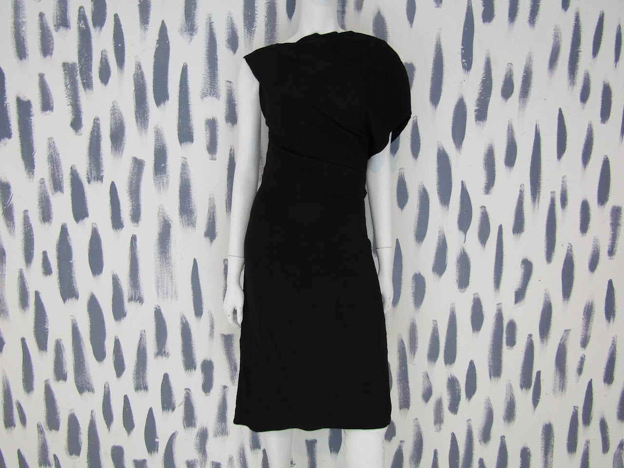Balenciaga Paris Little Black Dress