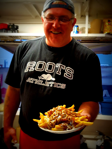 Poutine at the Newfoundland and Labrador Folk Music Festival. From Top 10 Family-friendly restaurants in St. John's, Newfoundland