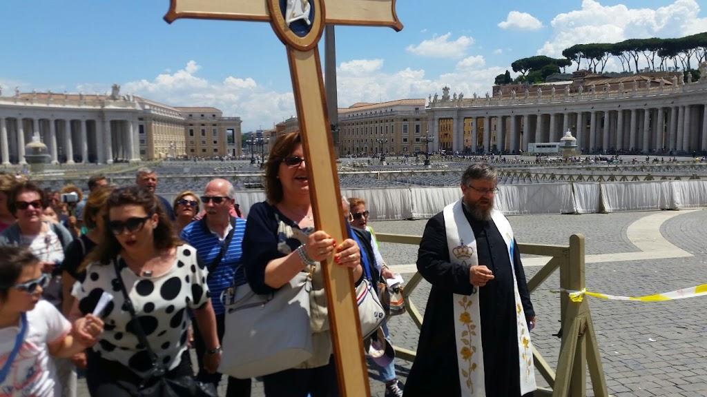 Pielgrzymi z Castellammare w Rzymie, 8 czerwca 2016 - IMG-20160608-WA0022.jpg