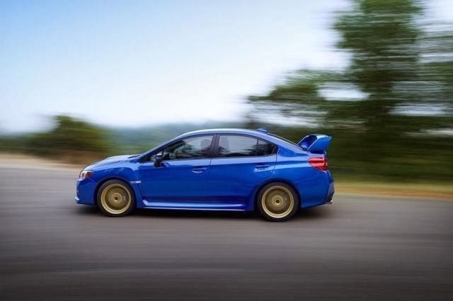2015 Subaru WRX STI Leaked Photo 4