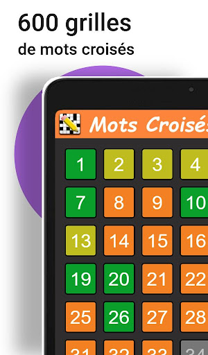 Mots Croisu00e9s en Franu00e7ais 1.8.0 Screenshots 7