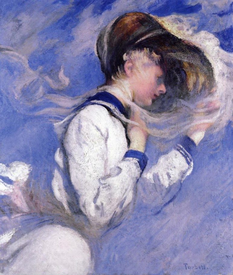 Edmund Charles Tarbell - Summer Breeze