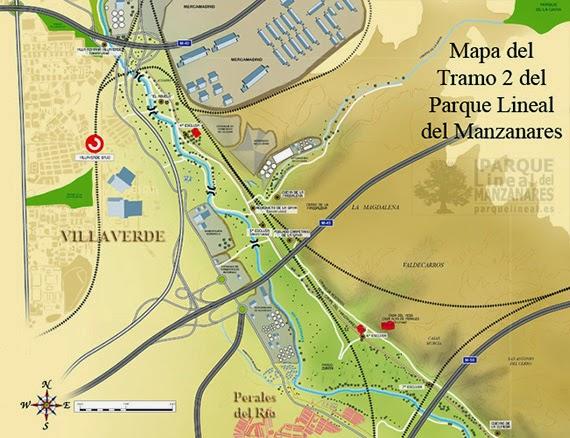 Ampliación del Parque Lineal del Manzanares en Villaverde