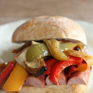 Italian Hot Dog #SundaySupper.