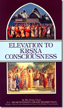 [Elevation to Krishna consciousness]