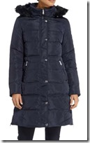 Lauren Ralph Lauren Waist Detail Down Filled Coat