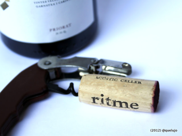 Vino Tinto Ritme 2010, Bodega Acústic Celler (D.O.Q Priorat) de Albert Jane