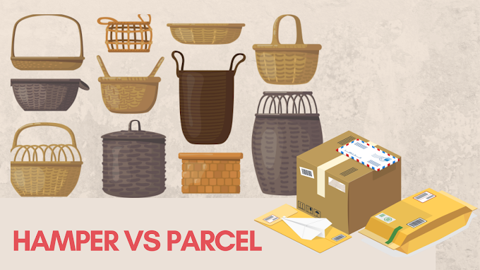 Hamper vs Parsel