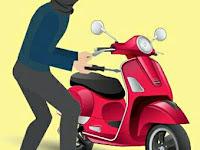 Sepeda Motor Warga, Hilang Dirumah Bidan Desa