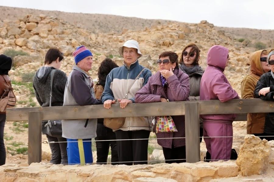 Наша группа на экскурсии. Заповедник Мамшит.