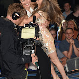 OIC - ENTSIMAGES.COM - Emma Willis and Nikki Grahame at the Big Brother 2015 - fifth eviction London June 12th 2015  Photo Mobis Photos/OIC 0203 174 1069