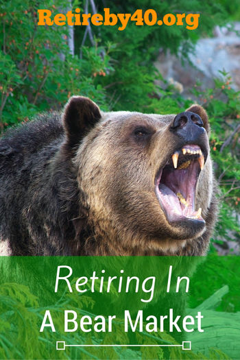 Retiring in a bear market