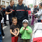 "Rassemblement SUD SNSPP FA ""Logements"" Lyon Etat Major du SDIS du 13 juin 2012"