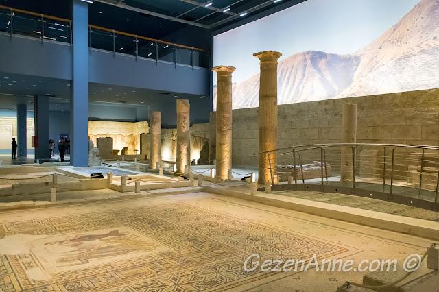 Zeugma müzesinin ortamı, Gaziantep