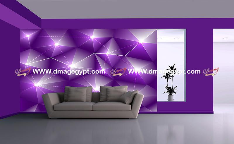 الحائط ثلاثى الابعاد احدث التصميمات