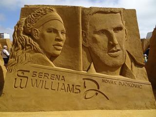 2016.08.12-050 Serena Williams et Novak Djokovic