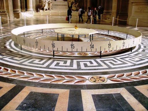 Махалото на Фуко в Пантеона