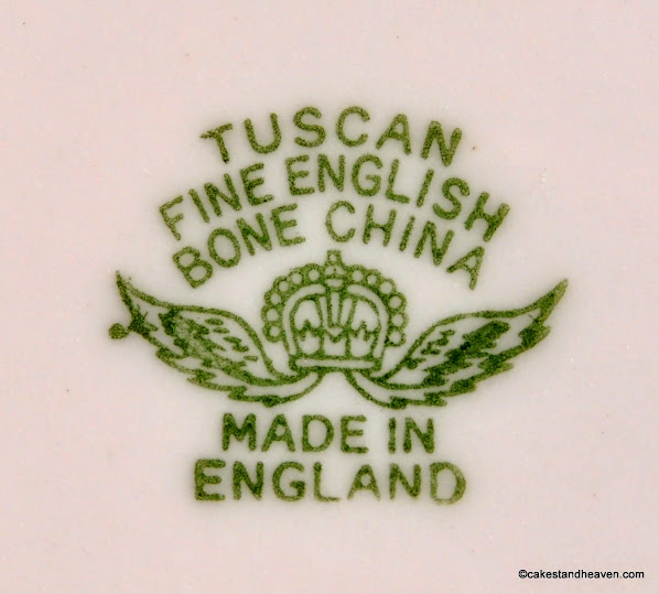 R. H. and S. L. Plant, Tuscan backstamp c.1947+