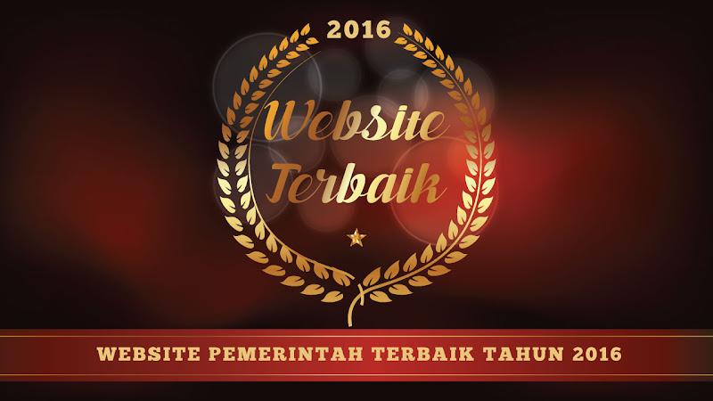 Website Pemerintah Terbaik Tahun 2016