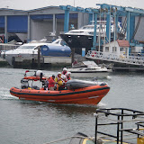 26-Apr 2011 - The ILB brings a tender back to shore