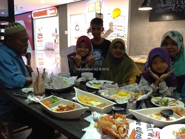 dinner di manhattan fish market cyberjaya