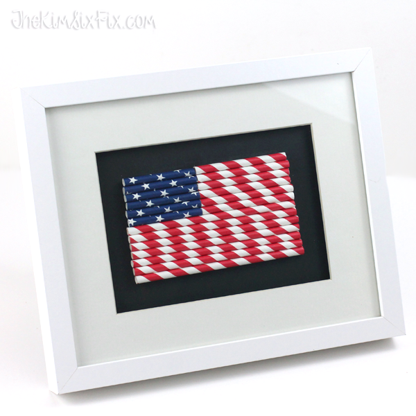 AmericanFlag Paper Straws