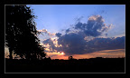 Sonnenuntergang in Krenglbach mit Handy K800i