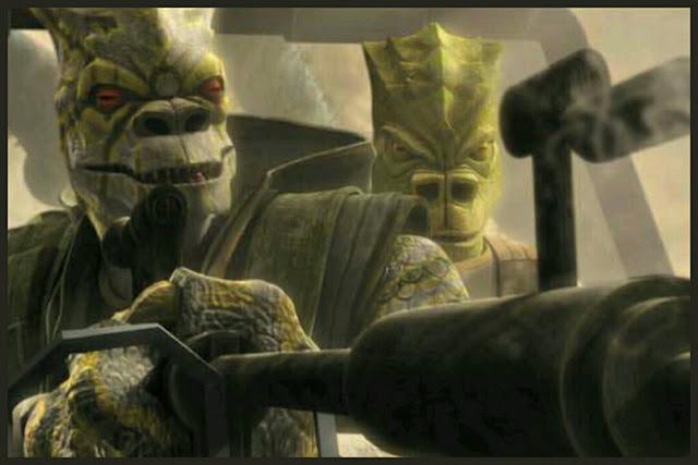 Trandoshans hunters clone wars