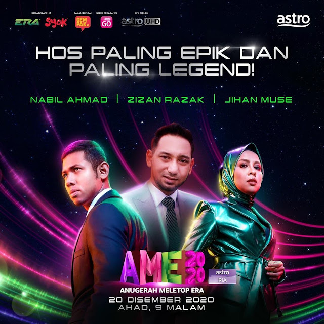 Live Streaming Anugerah Meletop ERA 2020.