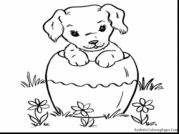 Astonishing Realistic Dog Coloring Pages With Dog Coloring Page And Dog  Coloring Pages That You Can