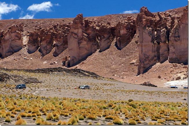Catedrais de Tara no Salar de Tara, Atacama