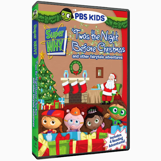 PBS KIDS Holiday DVD - Super WHY! 'Twas the Night Before Christmas