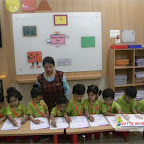 Rectangle Day Celebration of Nursery Morning Section at Witty World, Chikoowadi (2017-18)