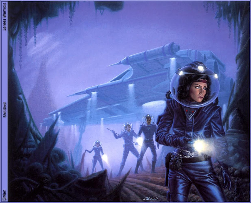 Space Attack, Fiction 1