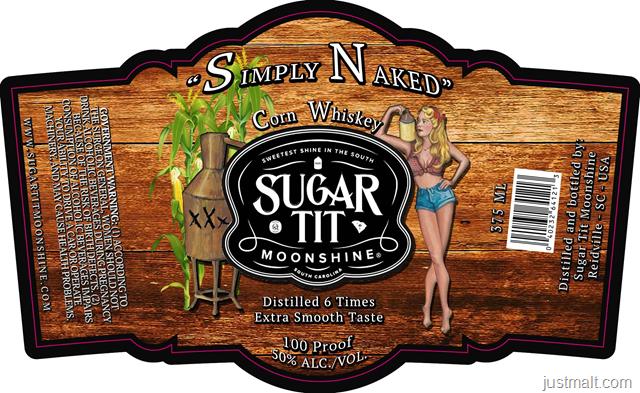 Sugar Tit Moonshine - Simply Naked Corn Whiskey