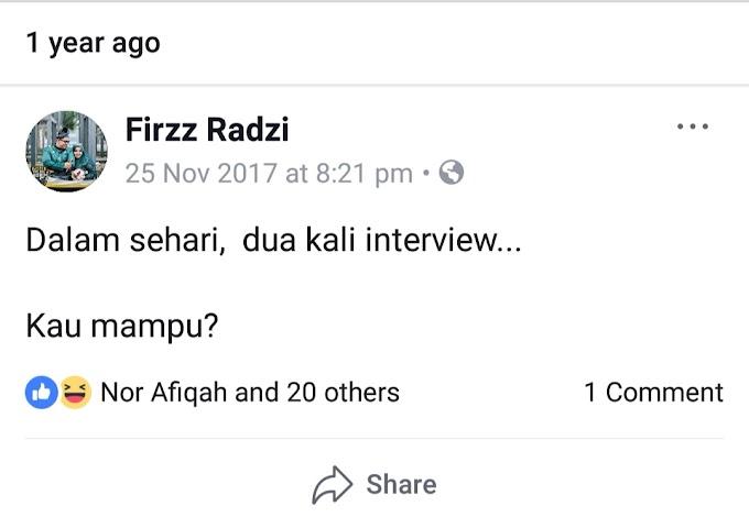 Nasib Lepas Interview