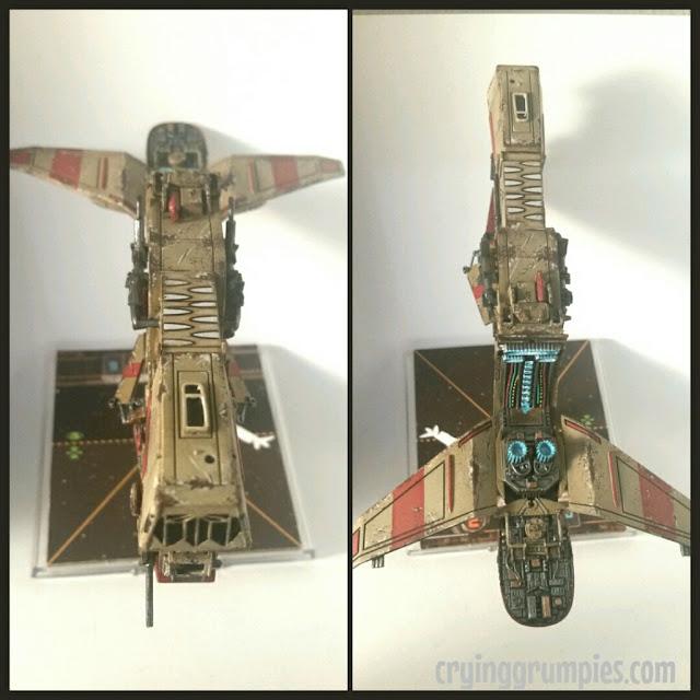 YV-666: Esclavista Trandoshano modificado y pintado por Xela