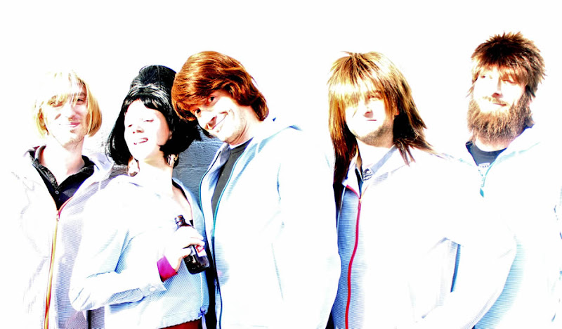 Victoria, Colin, and the Wig Band