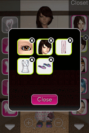 Click to Enlarge - Style Me Girl  Level 3 - Slumber Party - Mia - Closet