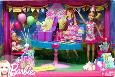 Bộ đồ chơi Barbie chúc mừng sinh nhật Chelsea