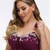 Plus Size G Cup Front Closure Embroidery Wireless Full Coverage Bras