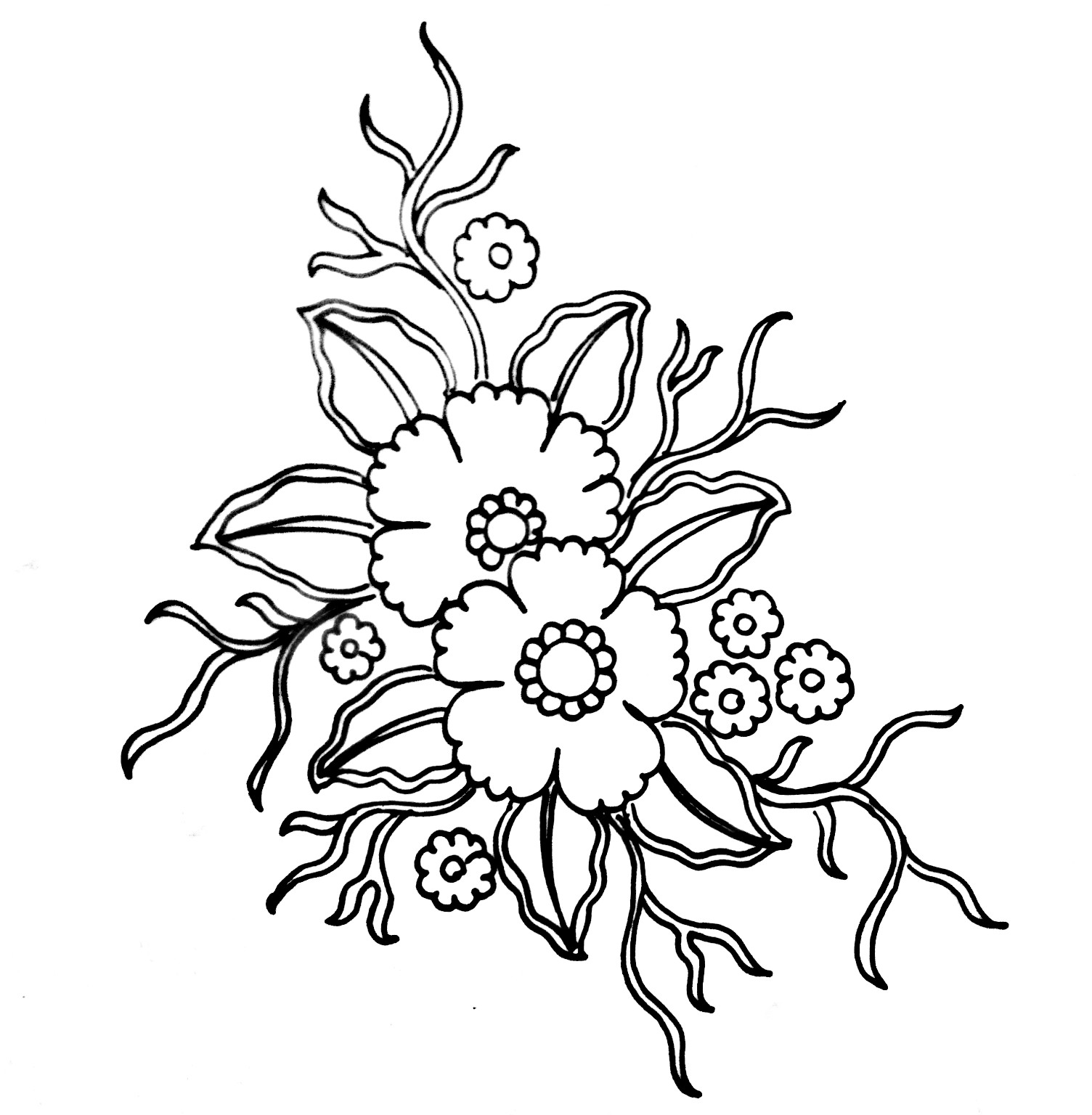 Embroidery flower design/flower embroidery design free download/free download embroidery flowers design images.