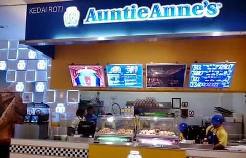 Awas!!! Kedai Roti Auntie Anne's Tiada Halal JAKIM