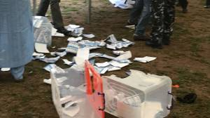 Breaking: Violence Break Out At APC Ekiti Primary Election