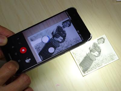 フォトスキャンbyGoogleフォトで雑誌写真と紙焼きをデジタル化