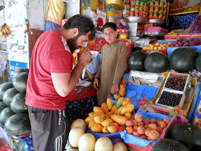 A Fruit shop in Rawalpindi