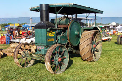 We have steam engines...