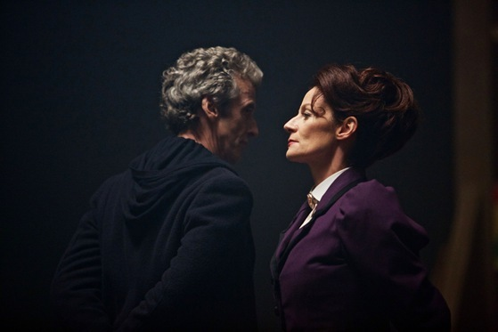 Doctor Who The Magicians Apprentice The Doctor and Missy